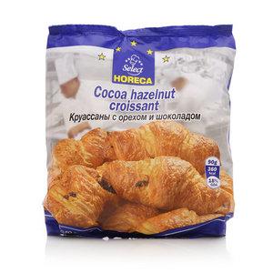 Круасссаны с орехом и шоколадом замороженные ТМ Horeca Select (Хорека Селект), 6 шт
