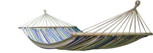 Гамак для двоих хлопковый 200х150см дизайн в ассортименте ТМ Giardino Club (Гиардино Клуб)