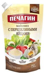 Майонез с перепелиными яйцами 50% ТМ Печагин