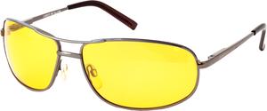 Очки поляризационные с желтой линзой, с металлической оправой ТМ Cafa France (Кафа Франция)