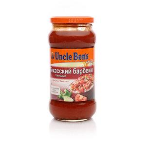Соус томатный Техасский барбекю с овощами ТМ Uncle Ben's (Анкл Бен'с)