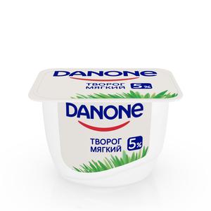 Творог мягкий 5% ТМ Danone (Данон)
