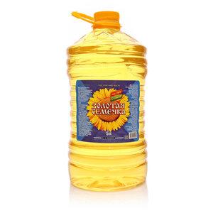 Подсолнечное масло ТМ Золотая семечка рафинированное дезодорированное