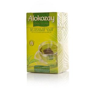 Чай зеленый ТМ Alokozay (Алокозай), 25 пакетиков