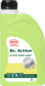 Автошампунь для бесконтактной мойки Active Foam Light (Актив Фоам Лайт) ТМ Dr. Active (Др. Актив)