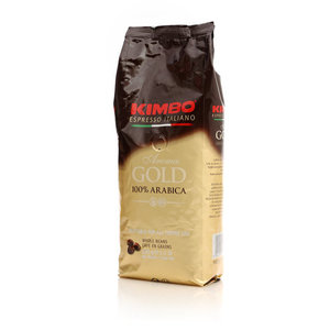 Кофе жареный в зернах Aroma Gold ТМ Kimbo (Кимбо)