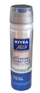Гель для бритья ТМ Nivea Men (Нивея Мен) Экстремальный комфорт