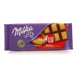 """Шоколад молочный с печеньем """"LU"""" ТМ Milka (Милка)"""