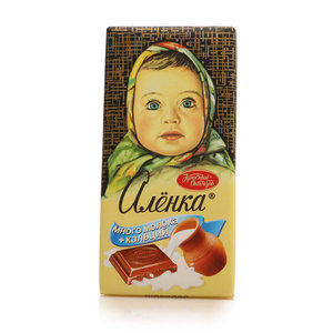 Шоколад молочный Много молока и кальция ТМ Алёнка