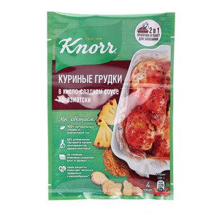 Приправа На второе Куриные грудки в кисло-сладком соусе по-азиатски ТМ Knorr (Кнорр)