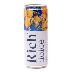 Напиток сокосодержащий из винограда и лимона газированный ТМ Rich (Рич)