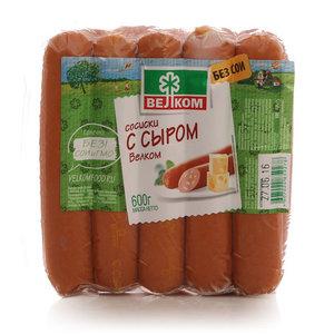 Сосиски с сыром ТМ Велком