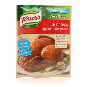Приправа На Второе Цыпленок в хрустящей корочке ТМ Knorr (Кнорр)