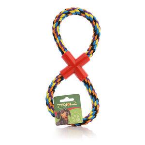 Игрушка для собак апорт на веревке ТМ Triol (Триол)