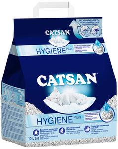 Наполнитель для кошачьего туалета впитывающий, 10 л ТМ Catsan (Катсан)