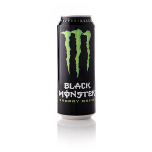 Напиток энергетический Black Monster Energy drink ТМ Black Monster (Блэк Монстер)