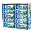 Жевательная резинка Прохладная мята 30 пачек ТМ Orbit (Орбит)