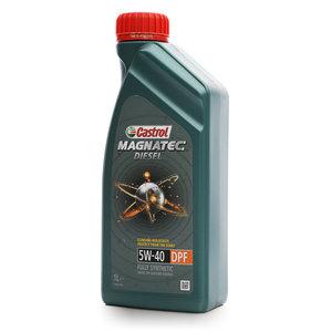 Масло моторное синтетическое Magnatec diesel 5W-40 DPF ТМ Castrol (Кастрол)