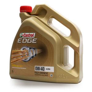Масло моторное синтетическое EDGE 0W-40 A3/B4 ТМ Castrol (Кастрол)