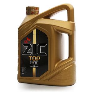 Масло моторное синтетическое 5W-30 ТМ ZIC Top (Зик топ)