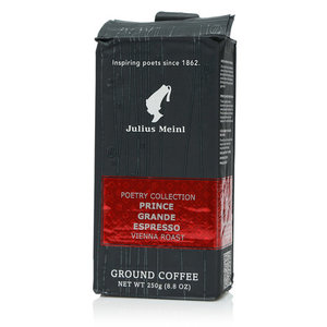 Кофе молотый Grand Espresso классический ТМ Julius Meinl (Юлиус Майнл)