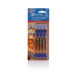 Ручки шариковые 4шт ТМ Penac (Пенак)