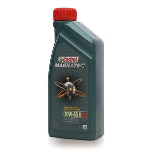 Масло моторное полусинтетическое Magnatec (Магнатек) 10W-40R ТМ Castrol (Кастрол)
