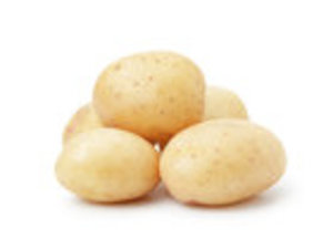 Картофель мытый белый