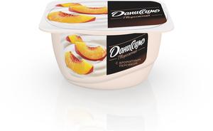 Творожок с персиком 5,4% ТМ Даниссимо
