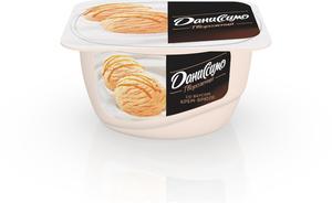 Творожный продукт со вкусом крем-брюле 5,5% ТМ Даниссимо