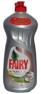 Средство для мытья посуды ТМ Fairy (Фэйри) Platinum, лимон и лайм