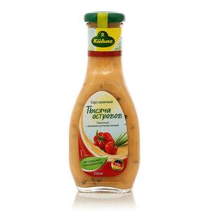 Соус салатный Тысяча островов на основе растительного масла ТМ Kuhne (Кюне)