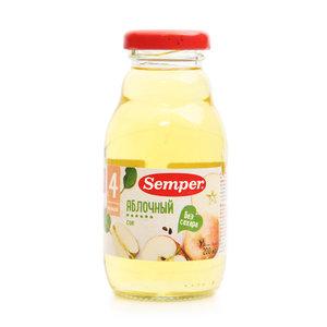 Яблочный сок без сахара с 4 мес. ТМ Semper (Семпер)