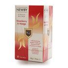 Чай черный Клубника и манго 25*2 г ТМ Newby (Ньюби)