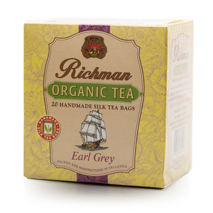 Чай черный Earl Grey Tea 20*2 г ТМ Richman (Ричман)