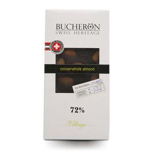 Шоколад горький с с цельным миндалем ТМ Bucheron (Бачнор)