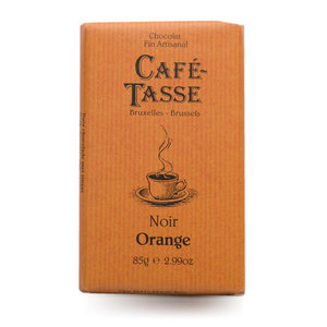 Темный шоколад с апельсином ТМ Café-Tasse (Кафэ-Тэсс)