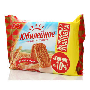 Печенье традиционное ТМ Юбилейное