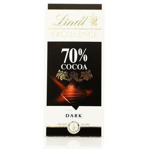 Горький шоколад Excellence 70% ТМ Lindt (Линдт)