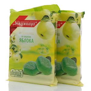 Мармелад со вкусом яблока, 2*325г ТМ Ударница