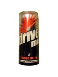 Напиток безалкогольный тонизирующий (Энергетический) газированный с цитрусовым вкусом ТМ Drive Me (Драйв Ми)