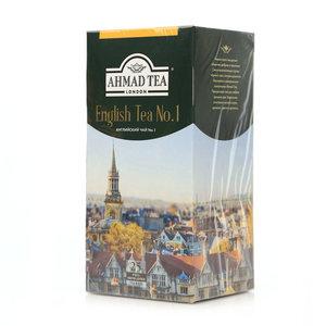 Чай чёрный с ароматом бергамота English Tea (Инглиш Ти) №1 25*2г ТМ Ahmad Tea (Ахмад Тиа)