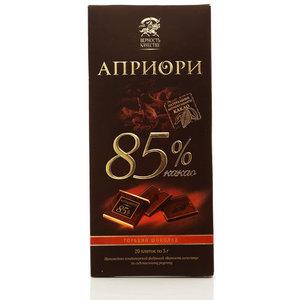 Шоколад Горький 85% какао ТМ Априори