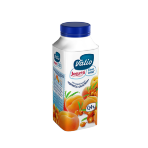Йогурт питьевой с абрикосом и облепихой ТМ Valio (Валио)