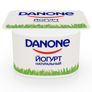 Йогурт натуральный 3,3% ТМ Danone (Данон)