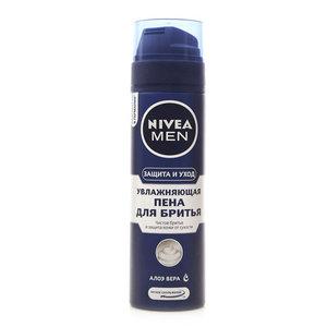 Увлажняющая пена для бритья алоэ вера ТМ Nivea men (Нивеа мен)