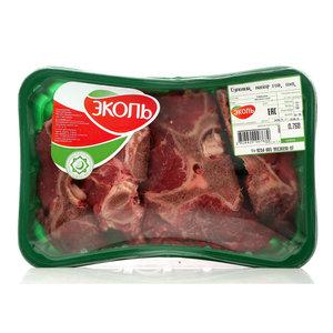 Суповой набор из говядины охлаждённый ТМ Эколь