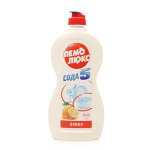 Средство для мытья посуды лимон сода5 ТМ Пемо Люкс