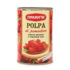 Томаты резаные в томатном соке ТМ Пиканта