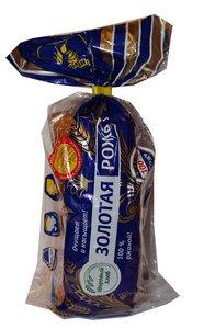 Хлеб Золотая рожь в нарезке ТМ Каравай